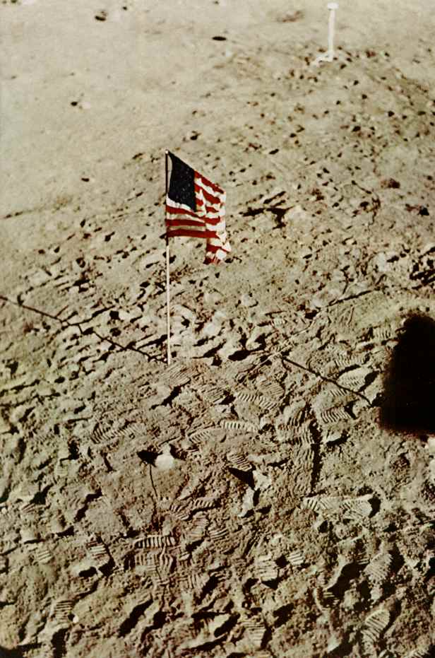 Moon landing. Photo: NASA